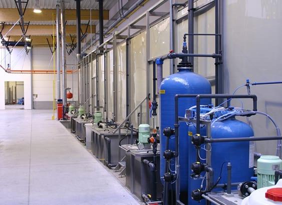 Deminwater installatie