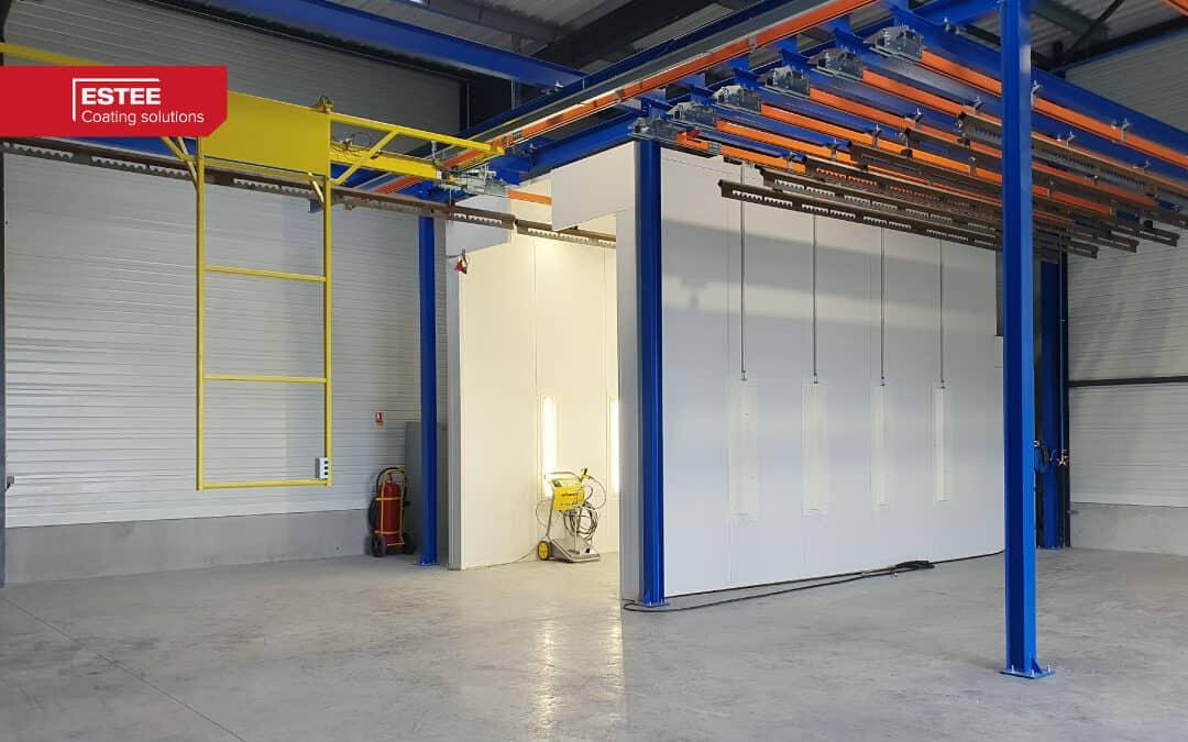 New powder coating installation for Promerac