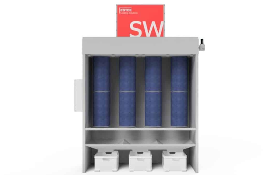 NIEUW: de hoog-efficiënte afzuigwand SW+